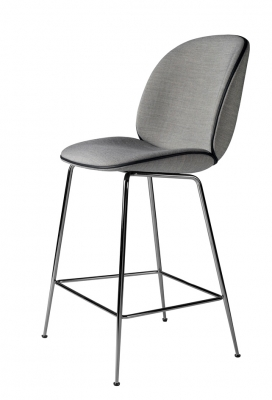 Beetle Counter Chair designed by GamFratesi for GUBI, Gubi Beetle bar stool with back, Beetle high chair by gubi