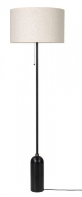 Gravity floor lamp designed by Space Copenhagen for GUBI, Gubi Gravity floor lamp, Gubi floor lamp with marble base