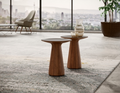 Foster 620 Side table designed by Norman Foster, Walter Knoll Foster side table, Walter Knoll side table in timber