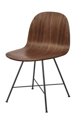 Gubi 2D Dining chair, Gubi 2 chair, Gubi timber chair