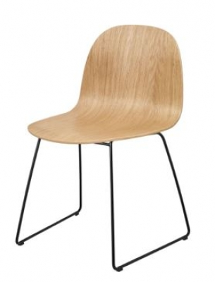 Gubi 2D Dining chair, Gubi 2 chair, 2D dining chair by Gubi