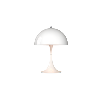 Panthella Table Mini lamp by Louis Poulsen, Panthella lamp designed by  Verner Panton for Louis Poulsen