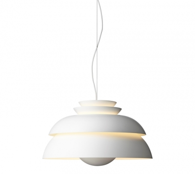 Concert lamp designed by  Jorn Utzon for Fritz Hansen, Concert pendant lamp Lightyears