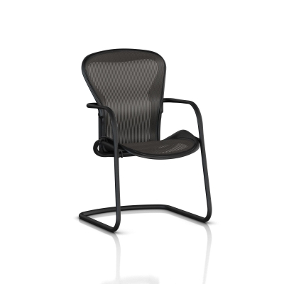 Aeron side chair Herman Miller, Herman Miller Aeron chair cantilever base