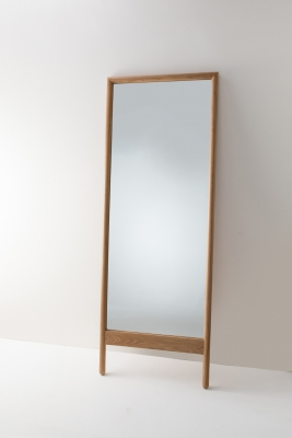 Fable Oak Mirror designed by Ross Didier, Didier fable oak Mirror