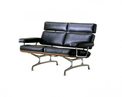 Eames Sofa designed by Charles and Ray Eames for Herman Miller, Herman Miller Eames Sofa