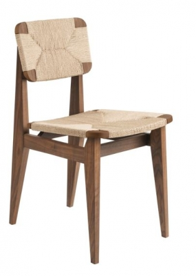 C-Chair designed by Marcel Gascoin, GUBI C-Chair dining chair