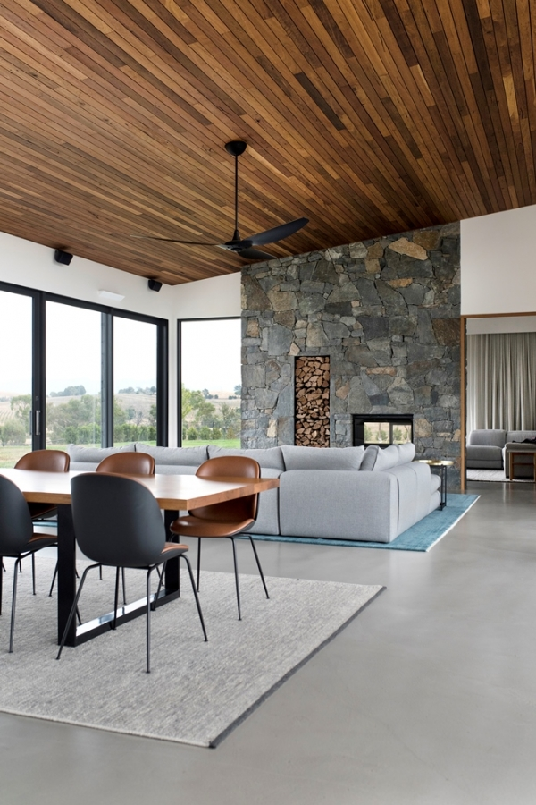 Canberra House, House of the year Canberra, House of the year Canberra 2019, Canberra home, Canberra furniture, Residential project Canberra, Gubi beetle chair